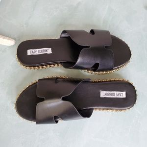 Cape Robbin Shoes - NEW Cape Robin Black Sandal